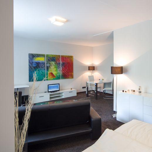 Möblierte Suite in bester Kurpark Lage- salinenparc INN Bad Waldliesborn