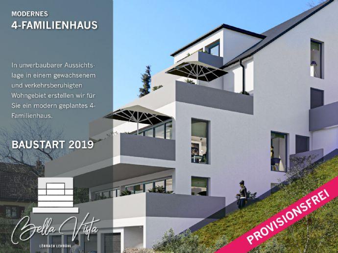 Neubau-Projekt: 4-Zimmer Wohnung in Aussichtslage