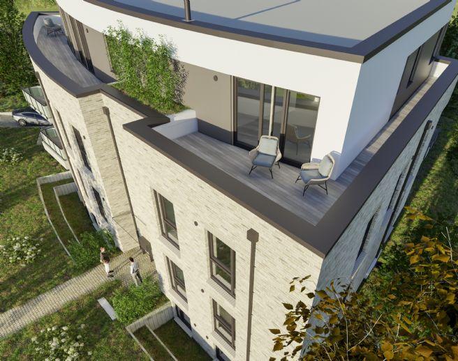 Neubau Penthouse in Lokstedt