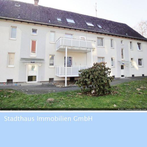 Dortmund-Rahm: Freie 1,5 Zimmer-Wohnung mit Balkon !