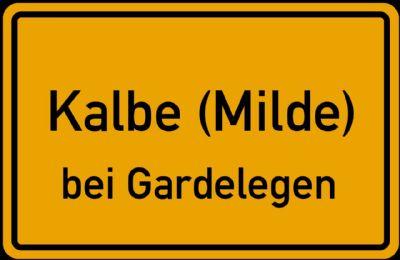 Baugrundstück in Kalbe (Milde)