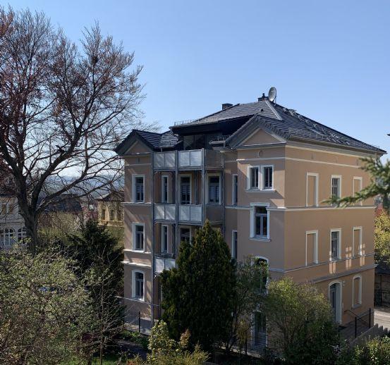 Erstbezug: Generalsanierte 2. OG Wohnung in Stadtvilla In Pößneck