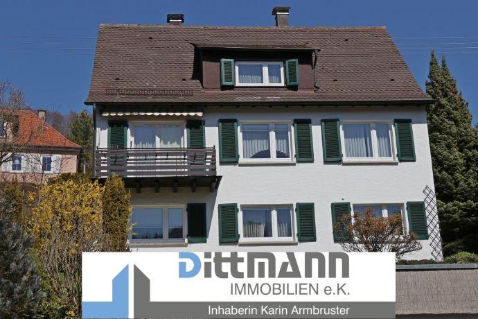 Der Weg zu Ihrem Eigenheim - 1-Familienhaus in ruhiger Lage von Ebingen