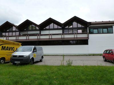 Oberaudorf Halle, Oberaudorf Hallenfläche