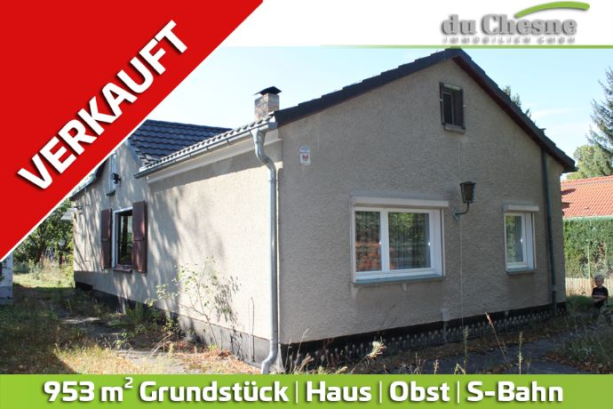 Baugrundstück in ruhiger Lage. Haus | S-Bahn | Obst | Grundstück