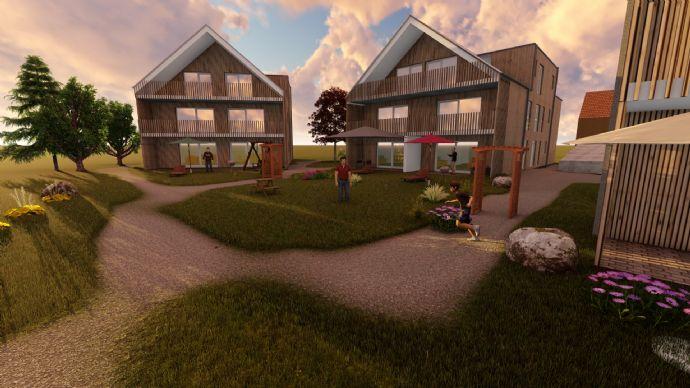 Moderne 3-Zi-Wohnung in landlich ruhiger Lage