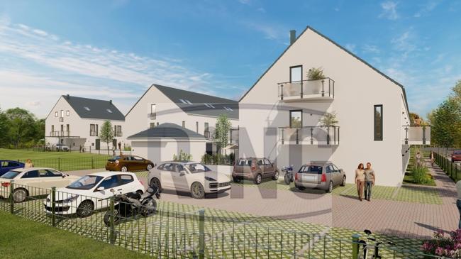 Neubau von 16 Reihen- und Doppelhäusern in der alten Gärtnersiedlung
