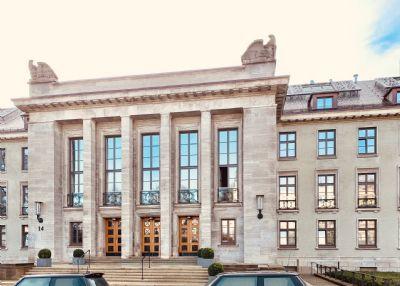 Teilmöblierte, luxuriöse 2-Zimmer-Wohnung in Hamburg Harvestehude, Neubau Erstbezug