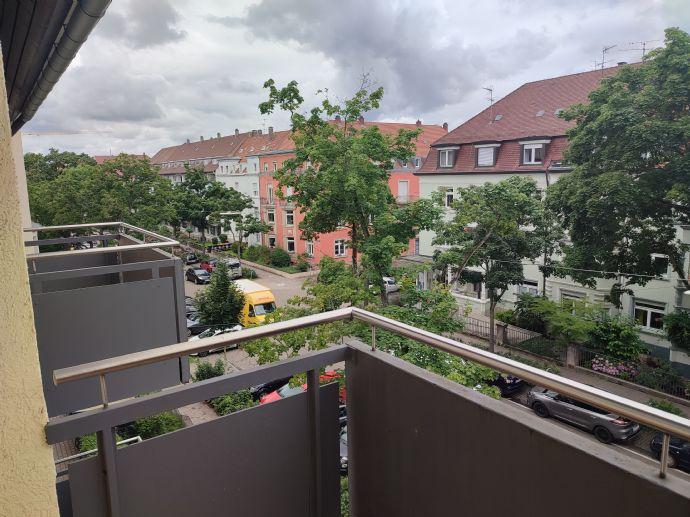4-Zimmer-Wohnung mit 3 Balkonen in der Weststadt, aktuell in Renovierung