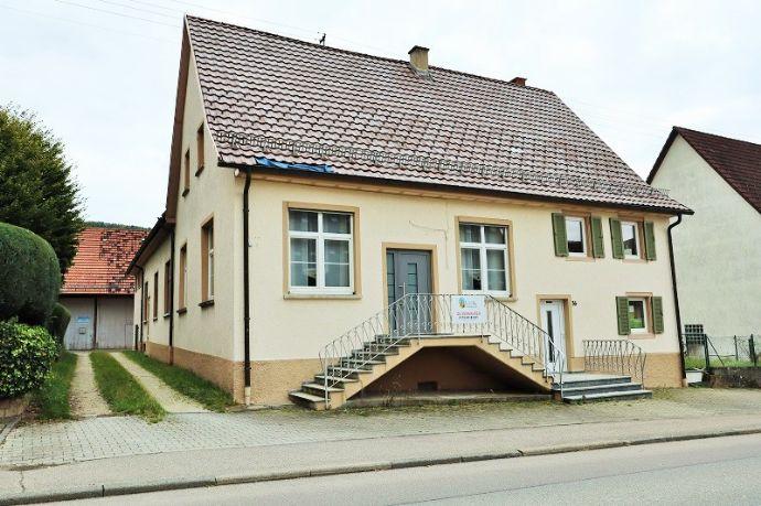 Große Wohn und Gewerbeimmobilie mit