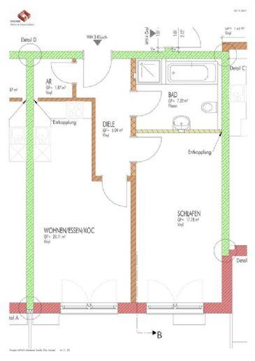 großzügige 2-Zimmer-Gartenwohnung in idyllischer Lage ab 01.02.2020 verfügbar
