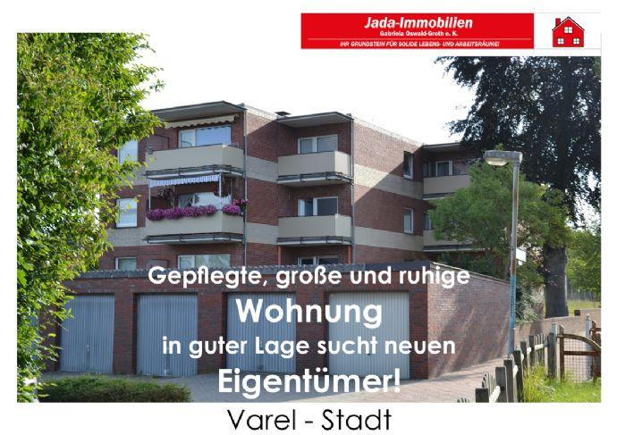 Eigentum schlägt Miete! Interessante Eigentumswohnung in Varel- Stadt!