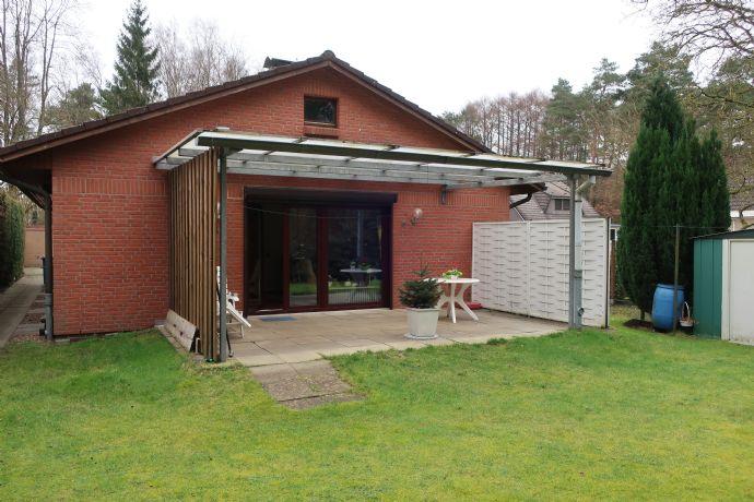 4 Zimmer Einfamilienhaus (alles ebenerdig) in Sackgassenlage mit Blick in den Wald