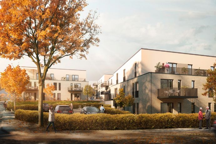 Ideal für Kapitalanleger - hochwertige 2-Zimmer-Neubau-Wohnung bei Bremen