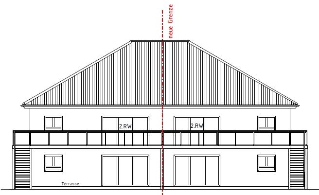 Kirchlengern Neubauprojekt - komfortable 3-4 Zi. Erdgeschoss-Wohnung - mit Terrasse in einer DHH
