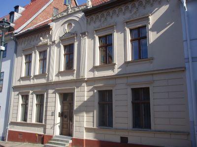 Große Wohnung im Elternhaus des Malers Runge