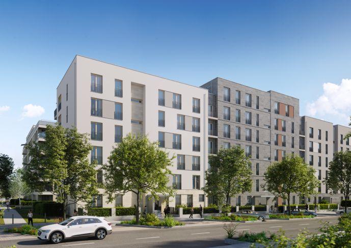 Intelligente Grundrisse 2-Zimmer-Wohnung mit Süd-Balkon