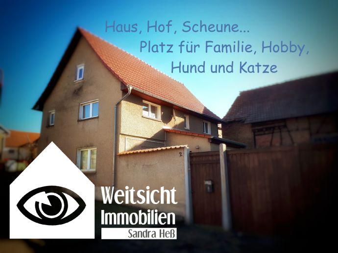 Einfamilienhaus in Tüngeda (Winterpreis)