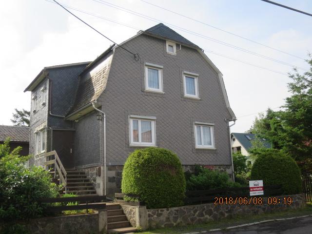 Lage, Lage, Lage - ruhiger, sonniger Standort, ebenes Grundstück - Einfamilienhaus in Suhl-Goldlauter-OT Heidersbach