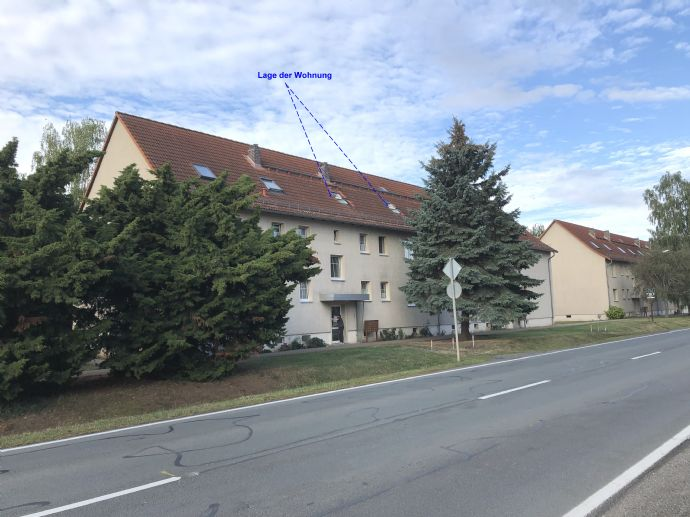 Topsanierte 2-Raum-Wohnung in Hoym, Ascherslebener Straße 20