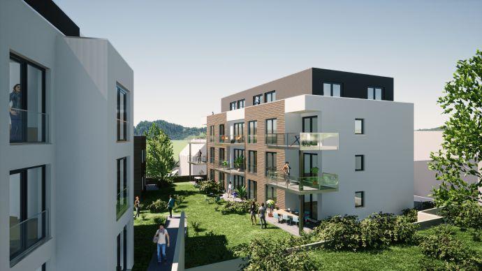 3-Zimmer mit Terrasse und Gartenanteil