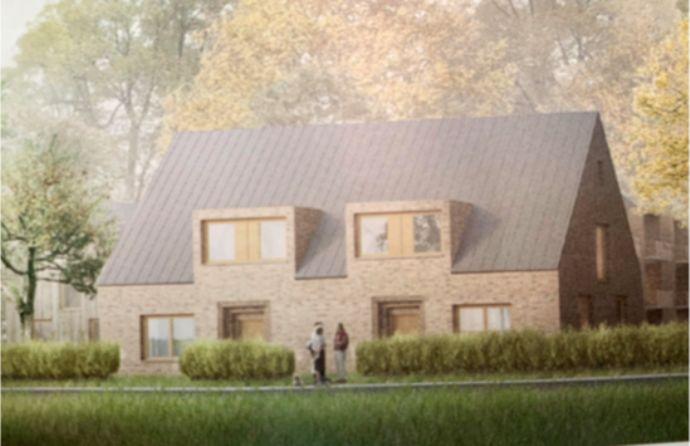 2 Doppelhaushälften in einem Neubaugebiet in Worpswede