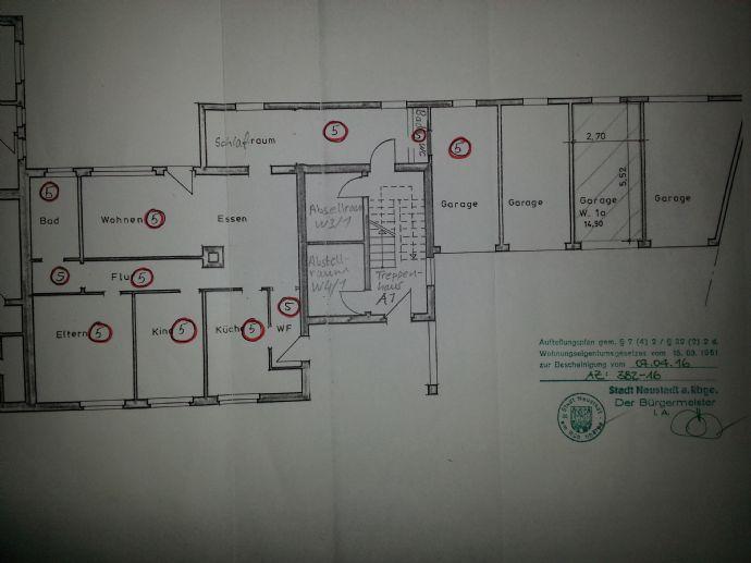 4-Zimmer mit Terrasse/Garten in Neustadt zu vermieten !