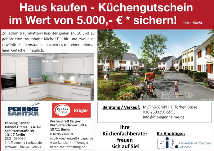 Großzügige Doppelhaushälfte mit gehobener Ausstattung, Terrasse & Garten