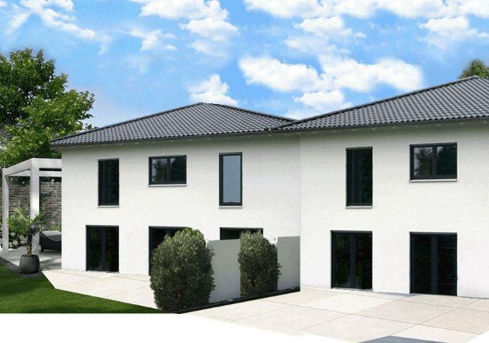 Hamburg Schnelsen - Stadtvilla als Doppelhaus in schöner Wohnlage