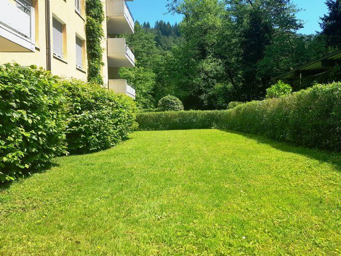 Sonnige 4-Zi-ETW mit großem Garten, Terrasse und TG-Platz, Freiburg-Günterstal!