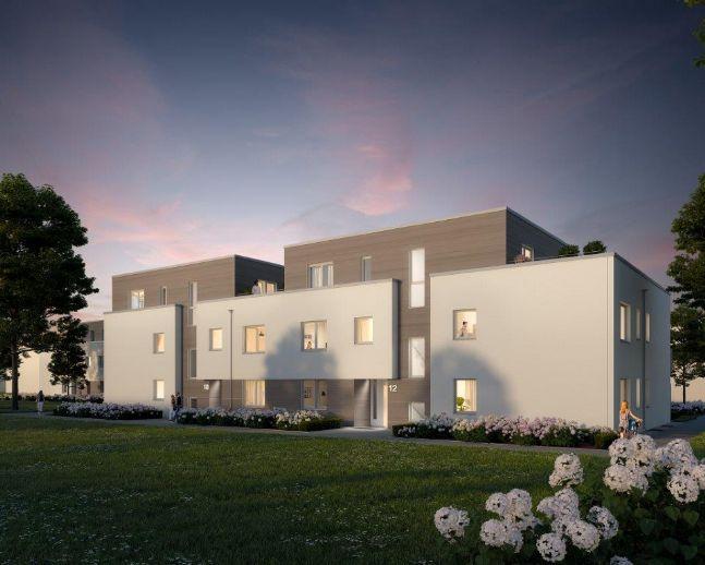 Penthouse-Wohnung, 3 Zimmer, große Dachterrasse