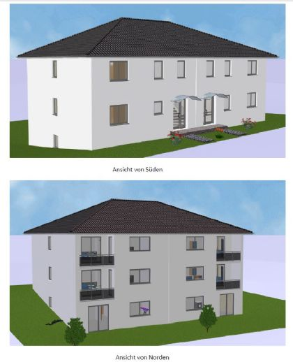 3-Zimmer-Wohnung mit Balkon, bezugsfertig ab 01.02.2020