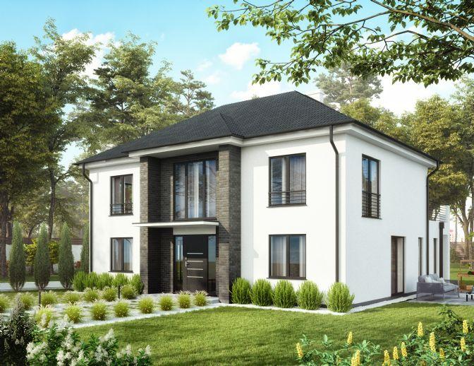 Intelligentes Architektenhaus auf Ihrem Grundstück