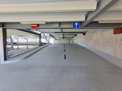 Amberg Garage, Amberg Stellplatz