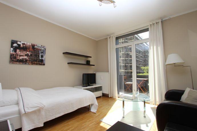 Möbliertes 1-Zimmer Appartment in Schwabing