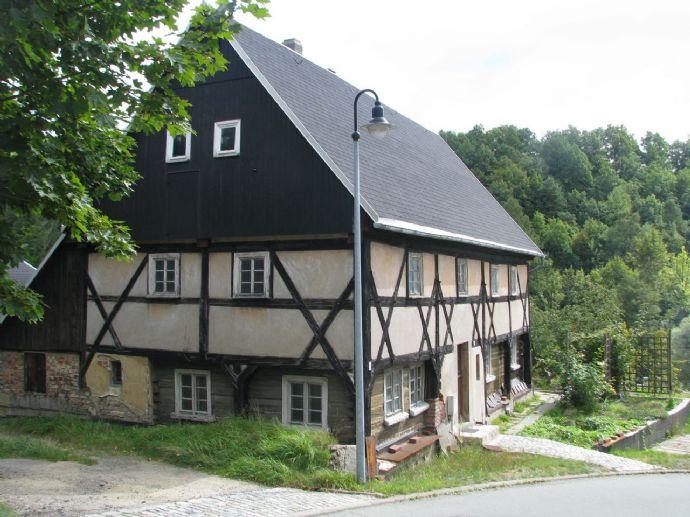 Historisch wertvolles, sehr authentisches Umgebindehaus aus dem 17. Jh.