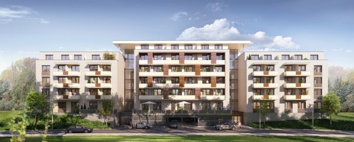Einzelapartment Typ 1 mit Balkon/Terrasse (EG, 1.OG, 2.OG)