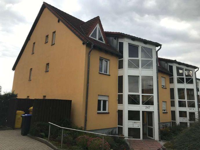 Panoramablick bis zum Fichtelberg! 2-Raum-Whg. in Marienthal, 1. OG, Südbalkon, TG-Stellplatz