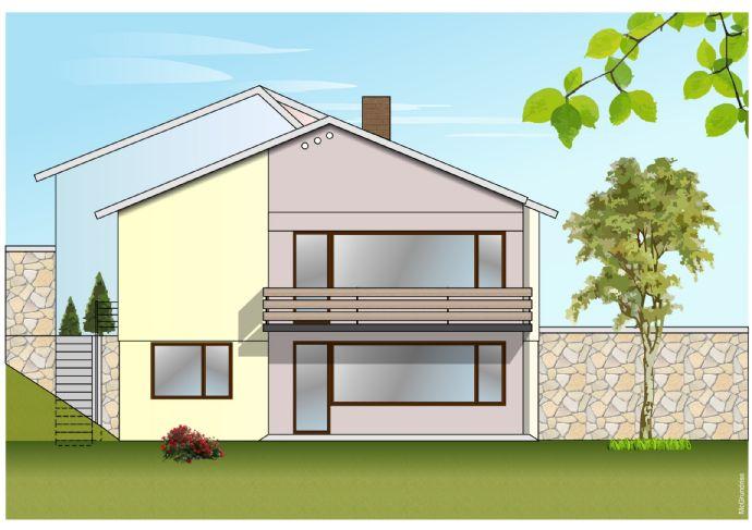 Vermietete Doppelhaushälfte mit Balkon, 2 Terrassen und Garten in Leichlingen