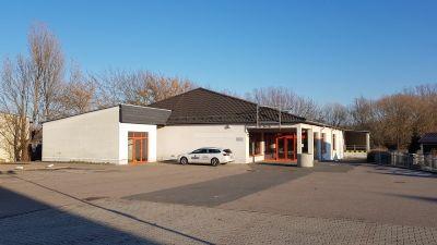 Ostrau Halle, Ostrau Hallenfläche