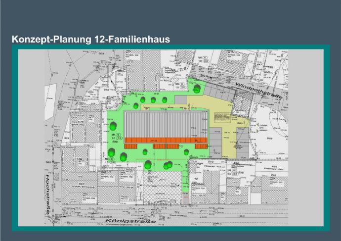 Baugrundstück für ein 12 Mehrfamilienhaus auf Wunsch mit Kapitalanlage im Zentrum von Rüthen...