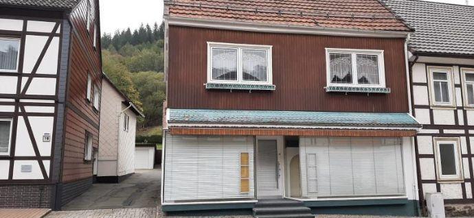 RESERVIERT - Wohn- und Geschäftshaus mit Anbau in Wieda