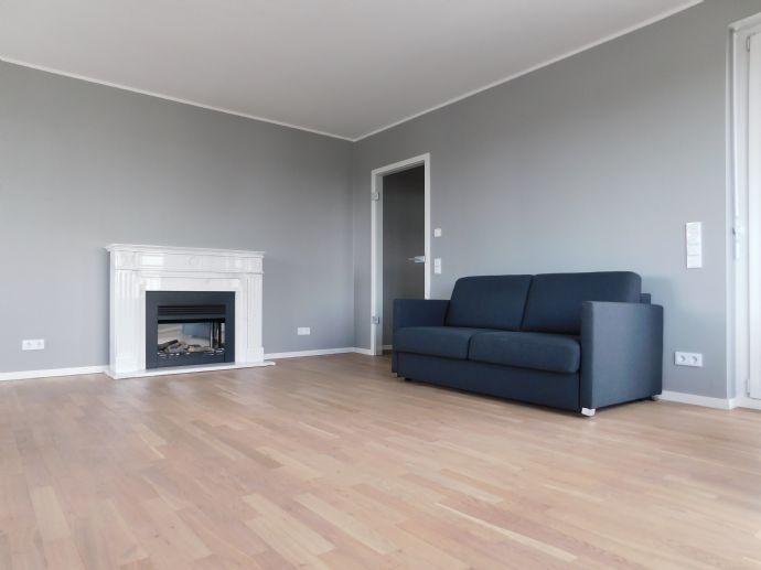 Luxuriöse, teilmöbilierte und kurzfristig verfügbare Wohnung in bester Lage