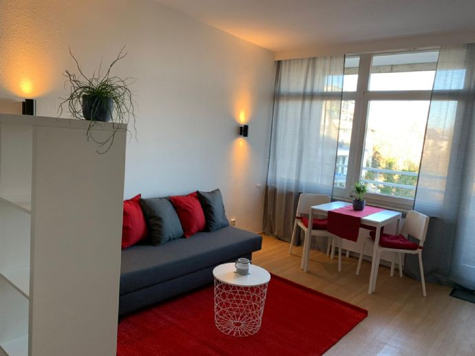 modernes 1-Zimmer-Apartment, nähe EZB