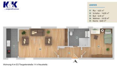 Neustrelitz Wohnungen, Neustrelitz Wohnung mieten