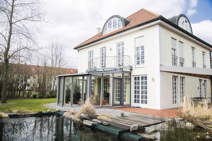 Wohntraum mit Schwimmteich in bevorzugter Lage im Ingolstädter Westviertel