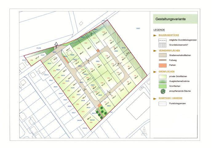 Baugrundstücke in Ettersburg