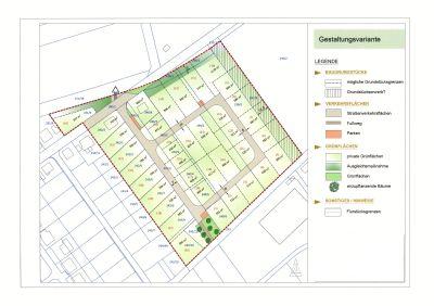 """Baugrundstücke in Ettersburg """"Am Keßling"""" in Größen von ca. 500 m² - ca. 1180m² / 3. BA"""