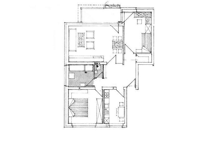 3-Zi.-Whg. in Dinslaken (Hagenviertel) m. Balkon u. Garage
