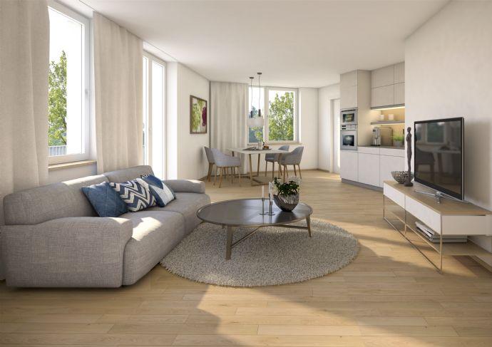 Herrliche 3-Zimmerwohnung mit Balkon im charmanten Neubau. Grünes Umfeld, ansprechende Ausstattung, Top-Preis!
